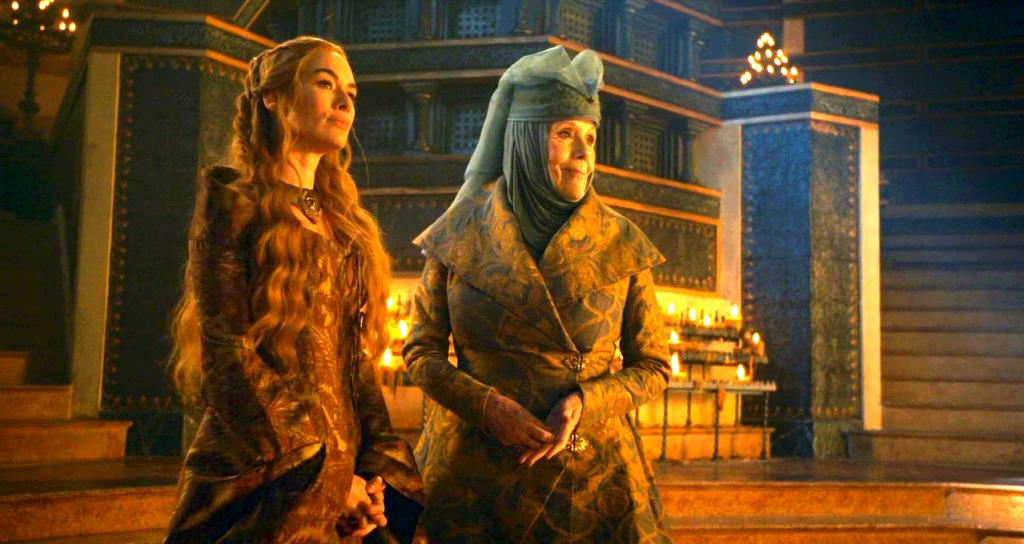Королева Шипов, Королева— Регент и Кхалиси